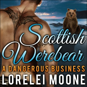 Scottish Werebear audiobook cover - book 2