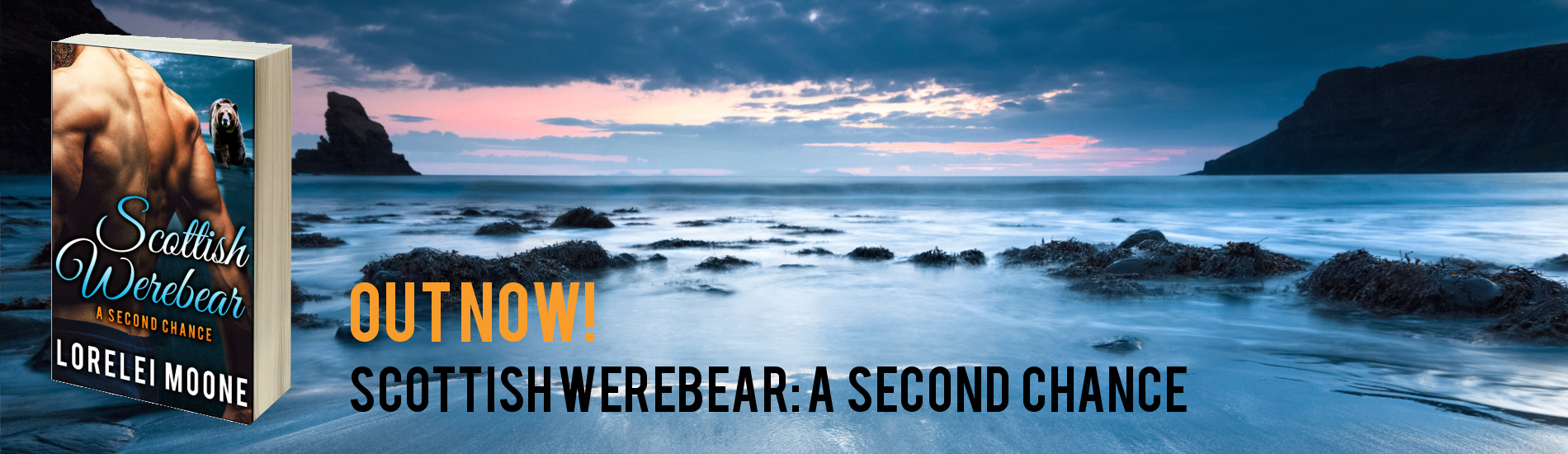 Out Now – Scottish Werebear: A Second Chance