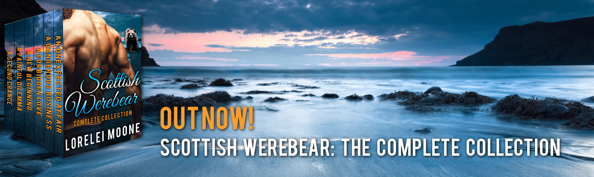 Out Now – Scottish Werebear: The Complete Collection