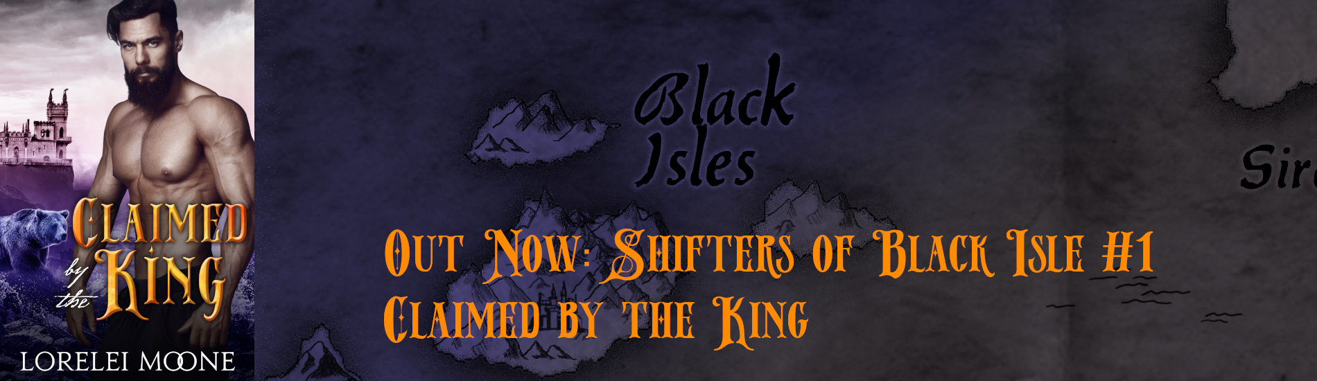 Out Now – Claimed by the King (Shifters of Black Isle #1)