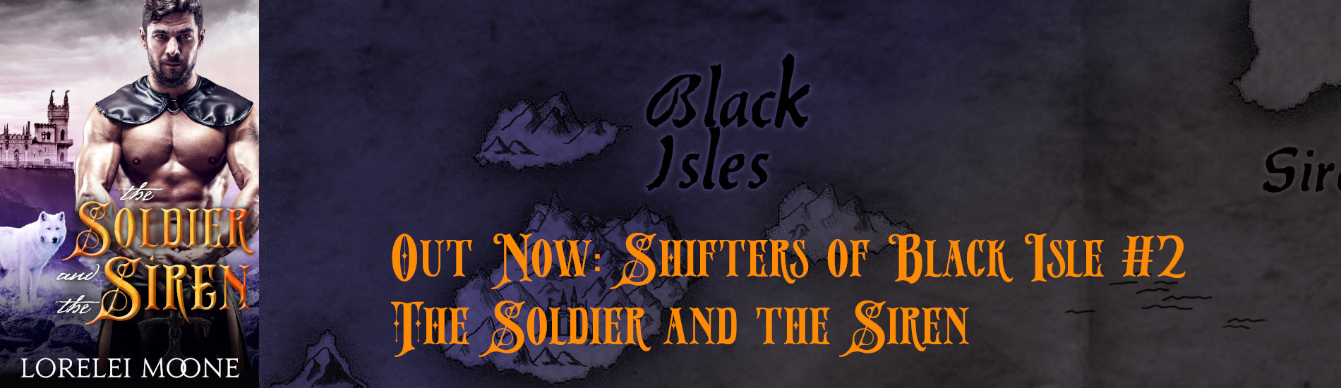 Out Now – The Soldier and the Siren (Shifters of Black Isle #2)