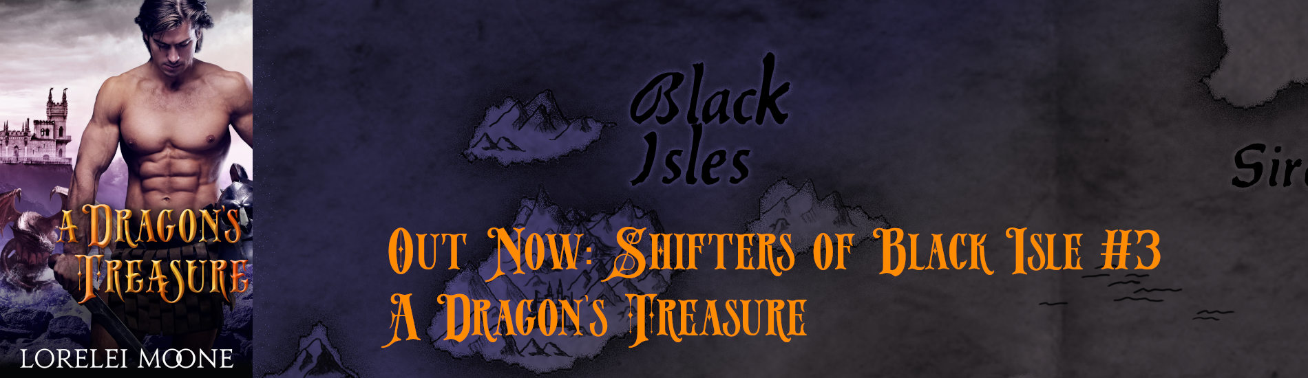 Out Now – A Dragon's Treasure (Shifters of Black Isle #3)